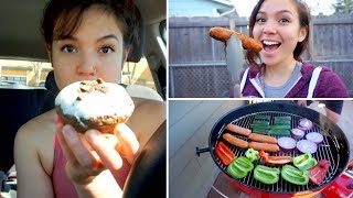 Vegan CHEAT DAY // Trying the Beyond Sausage ( What I Eat in a Day )