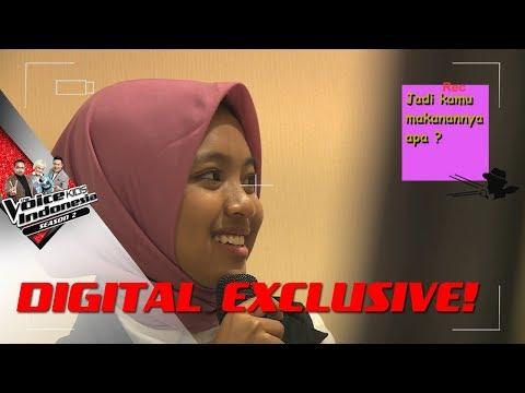 SHARLA DEMI TVKI LUPA MAKAN! | SECRET STORY #8 | The Voice Kids Indonesia S2 GTV 2017