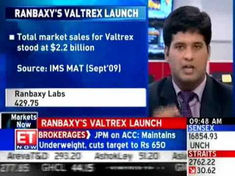 Ranbaxy launches generic version of Valtrex in US