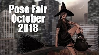 Pose Fair October 2018 in Second Life