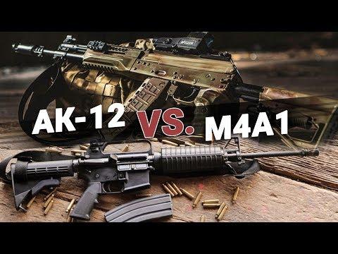 «Битва Титанов»: АК-12 и М4А1