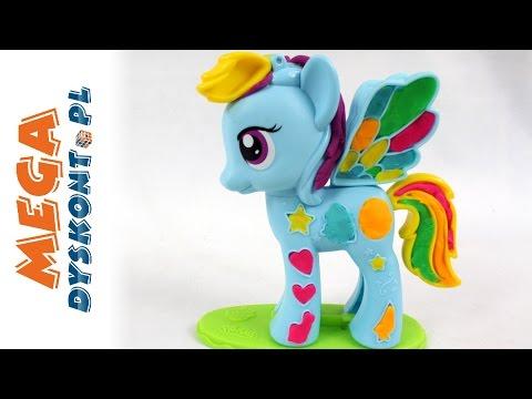 Rainbow Dash! - Play-Doh & My Little Pony