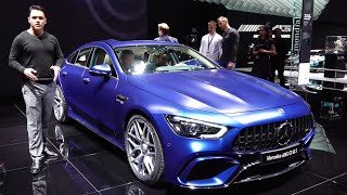 2019 Mercedes AMG GT 63 S - NEW Full REVIEW GT 4-Door Coupé