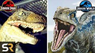 5 Ways Raptors Have Changed In Jurassic Park Movies
