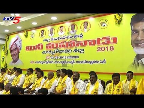 ఏపీలో పసుపు పండగ సంబరాలు..! | TDP Conducts Mini Mahanadu In Constituencies | TV5 News