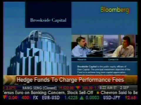 Hedge Funds To Change Performance Fees - Bloomberg