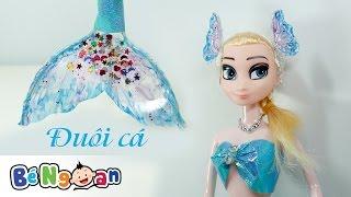 Làm đuôi cá cho Elsa ~ Make mermaid tail for Elsa