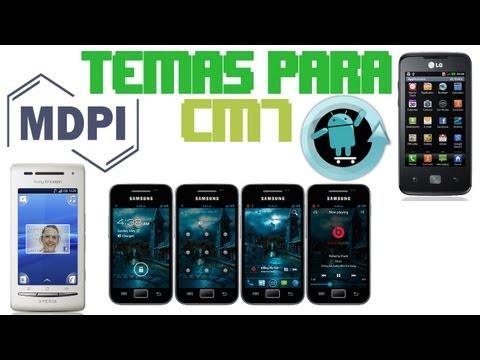Temas para CM7 MDPI para Android   DESCARGA GRATIS EL PACK!!!