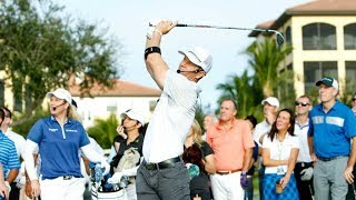 Mark Wahlberg, LPGA Golfers Participate in Golf Competition for St. Jude
