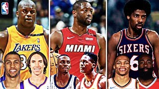 WHAT IF EVERY NBA LEGEND PLAYED IN THE SAME ERA AND HAD A FANTASY DRAFT?