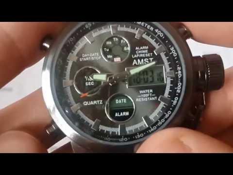 армейские часы amst как отличить подделку объясняется