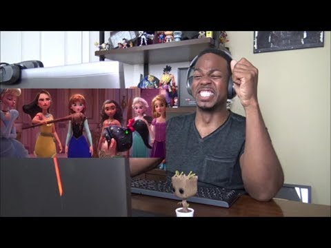 Ralph Breaks the Internet: Wreck-It Ralph 2 Official Trailer - REACTION!!!