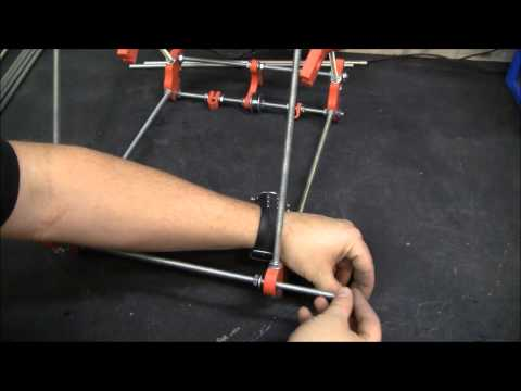 Reprap Assembly 02, Frame. Prusa Mendel V2