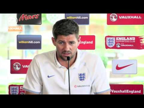 Gerrard and Sterling press conference - Darren Farley