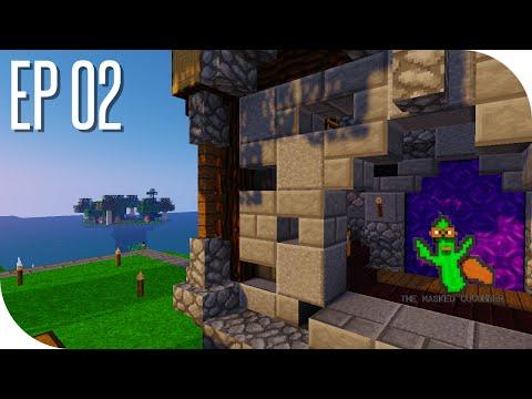 The Masked Cucumber : Episode 02 : Endermens, nous voilà  ! [Minecraft] [UHC+]
