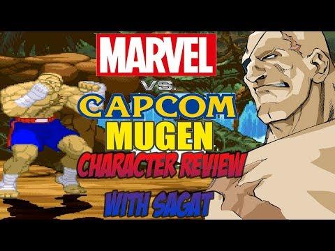 Marvel vs. Capcom M.U.G.E.N: Character Review w/ Sagat