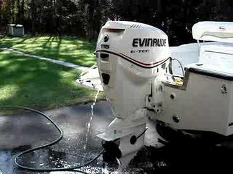 Evinrude Etec 115hp Youtube