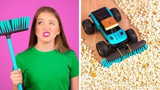 GENIUS HACKS FOR LAZY PEOPLE || Easy Funny Cleaning Hacks And Tricks by 123 GO!