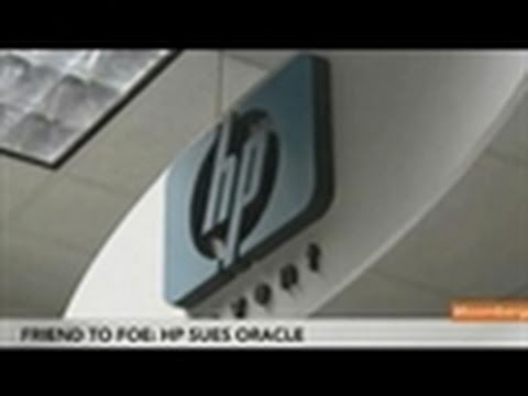 Hewlett-Packard Sues Oracle Over Broken Contract Claims
