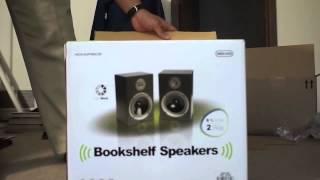 Monoprice Speaker Unboxing