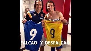 EL DOBLE DE FALCAO. COLOMBIA VS SALVADOR