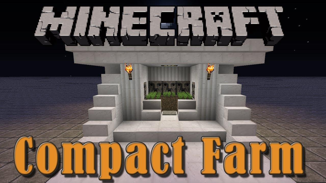 Compact Farm Minecraft