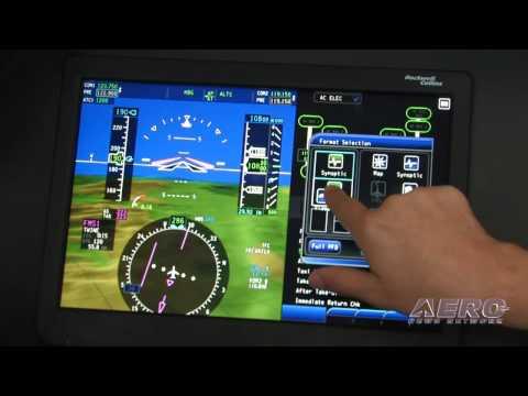 Aero-TV: Rockwell Collins Pro Line Fusion -- Updating Today's BizAv Panel