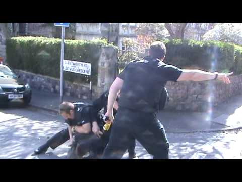 UNLAWFUL EVICTION OF MANSION AND POLICE VIOLENCE