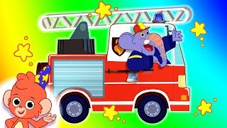 Cars for Kids | Car Cartoons | Learn Trucks and Street Vehicles | Car Wash Compilation | Club Baboo
