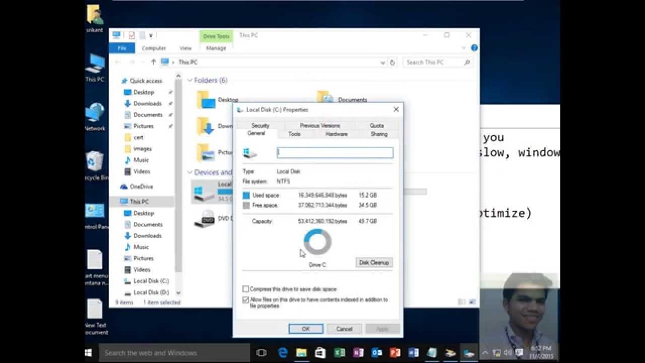 Fix windows 10 Start Up,Shut-down,Running Slow Part-01