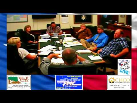 Eastland County Commissioners Court Part 2
