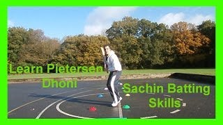 How to Play Cricket Batting Shots Tips & Drills to Improve Coming Down the Wicket & Hitting Sixes