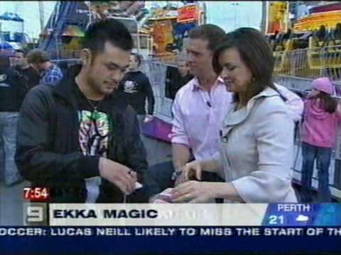 The Hershey's Kiss trick: Brisbane Ekka 2007 Video