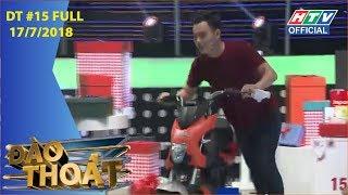 HTV ĐÀO THOÁT | Cặp đôi Điền - Trang thắng lớn với chiếc xe máy điện|  DT #15 FULL | 17/7/2018