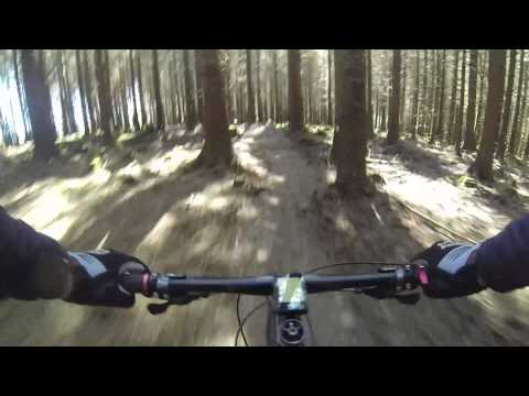 The Blade - Afan Forest Park Mountain Biking Centre.