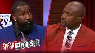 Kendrick Perkins reacts to Jeanie Buss not responding to Magic's comments | NBA | SPEAK FOR YOURSELF