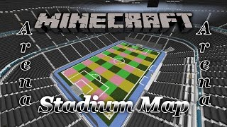 Minecraft Stadium/Arena Map (Free Download) Most Amazing Map Ever.