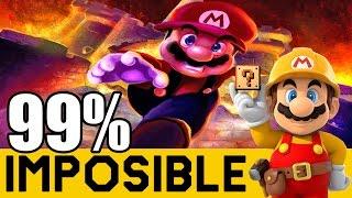 NIVELES 99% IMPOSIBLES #27: Nivel de Panga y Venganza del Experto! |Super Mario Maker| ZetaSSJ