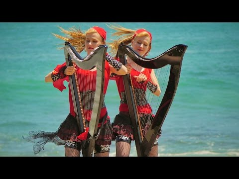 双子の姉妹ハープツインズが奏でる音色にうっとり♪