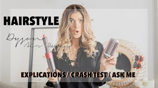 HAIR STYLE : Je teste le DYSON AIRWRAP (+ PRÉSENTATION, CRASH TEST, ASK ME )