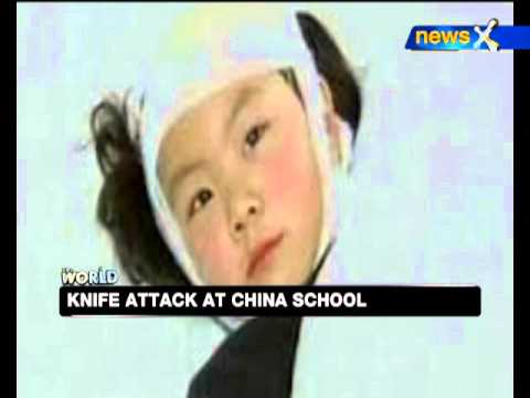 China school knife attack injures 22 children - NewsX