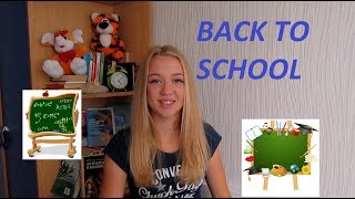 BACK TO SCHOOL ://ПОКУПКИ К ШКОЛЕ. 11 класс