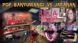 RELA DEMI CINTA  ENY SAGITA TANPA KENDANG JARANAN VS POP BANYUWANGI ( CAK YAYAN JANDUT DKK MBARONG )