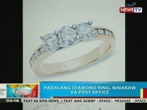 BP: Padalang diamond ring, ninakaw sa post office ng Paombong, Bulacan