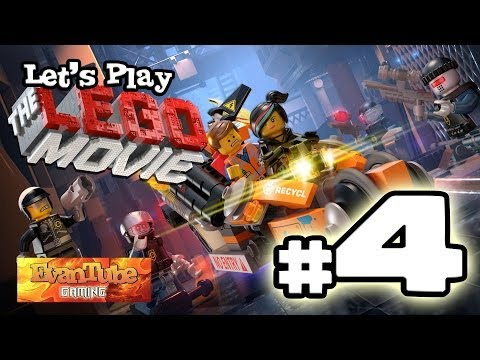 Let's Play The LEGO MOVIE VIDEO GAME! (Level 4) Gameplay with EvanTubeHD
