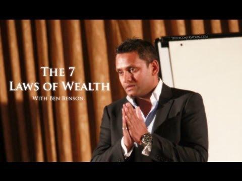 The 7 Laws of Wealth | Ben Benson | Full Length HD