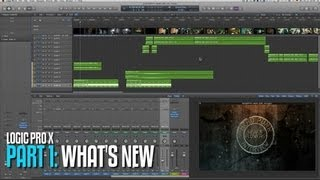 LogicProX overview for Audio Post part 1