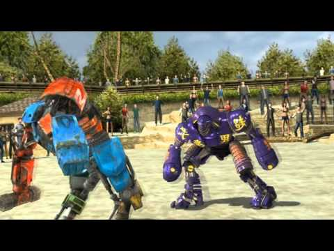 Official Real Steel Game For iOS & Android - Launch Trailer Music Videos