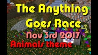 anything goes Race 2017 11 03 Animals