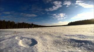 WInter IRBIS TTR 125/ Moto Drift ice